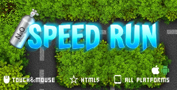 Speed Run-Html5 mobile game(capx) - CodeCanyon Item for Sale