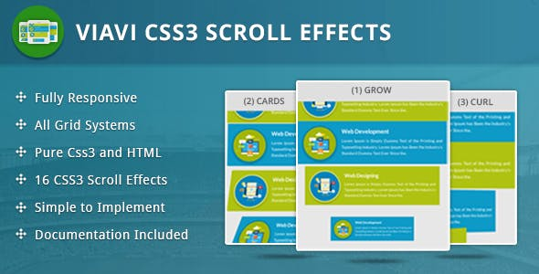 Viavi CSS3 Scroll Effects