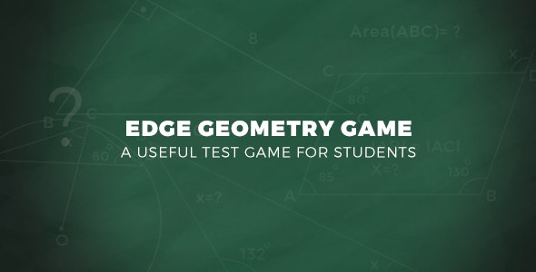 Edge Geometry Game - CodeCanyon Item for Sale