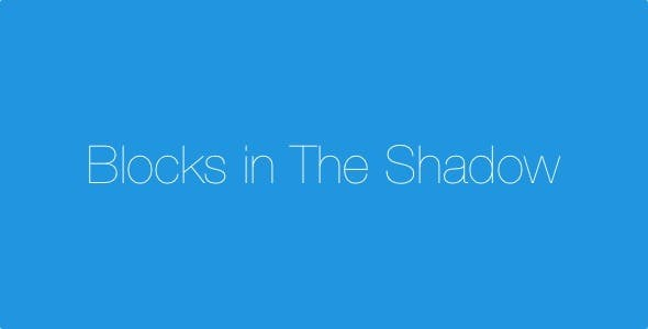 Blocks In The Shadow - IOS 9 SpriteKit Swift Game