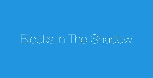 Blocks In The Shadow - IOS 9 SpriteKit Swift Game - CodeCanyon Item for Sale