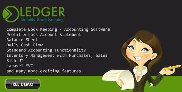 Ledger - Book Keeping Invoice Accounting Software