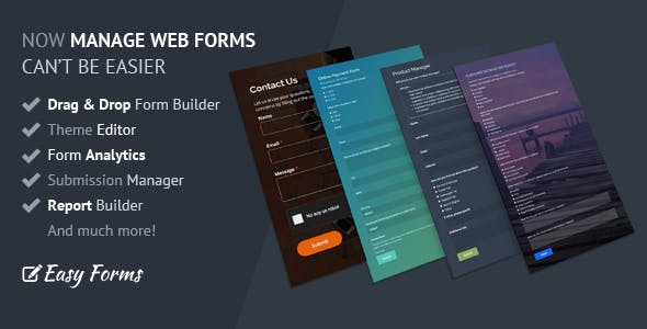 Easy Forms: Advanced Form Builder and Manager        Nulled