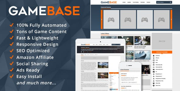 GameBase - Video Games Database