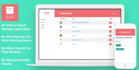 Box - An Online Cloud Storage Application