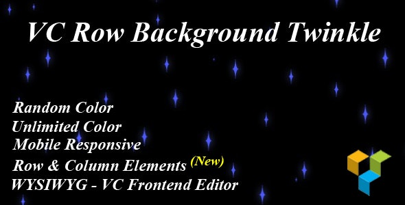 VC Row Background Twinkle - CodeCanyon Item for Sale