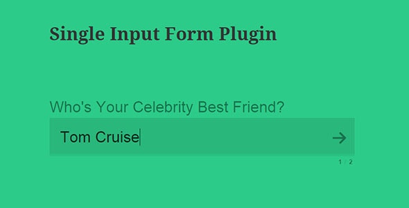 CPS Single Input form - CodeCanyon Item for Sale