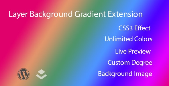 Layer - Gradient Background Extension - CodeCanyon Item for Sale