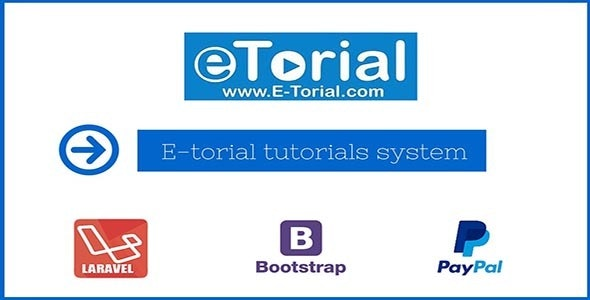 Laravel Video Tutorials System - E-torial - CodeCanyon Item for Sale