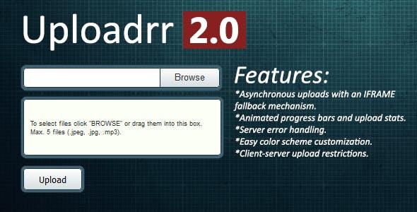 Uploadrr - HTML5 File Uploader