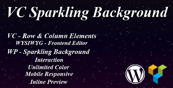 VC Sparkling Background - CodeCanyon Item for Sale