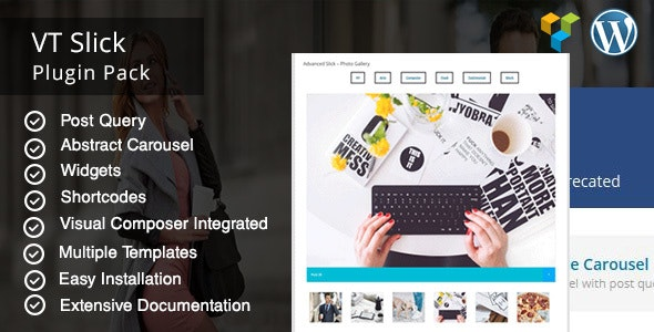 VT Slick Carousel WordPress Plugin - CodeCanyon Item for Sale