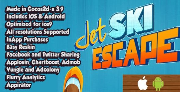 Jet Ski Escape - CodeCanyon Item for Sale