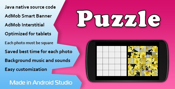 Puzzle Game with AdMob - CodeCanyon Item for Sale