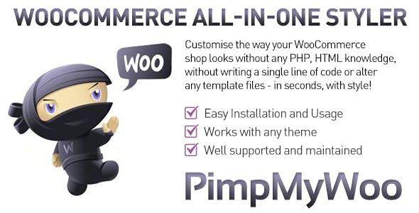 PimpMyWoo - Customize WooCommerce in style