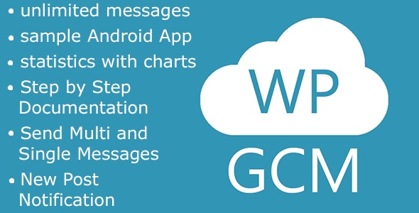 WP Google Cloud Messaging - CodeCanyon Item for Sale