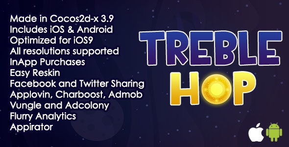 Treble Hop - CodeCanyon Item for Sale