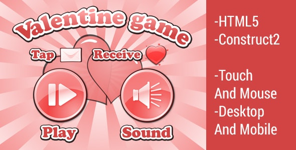 Valentine Game - CodeCanyon Item for Sale