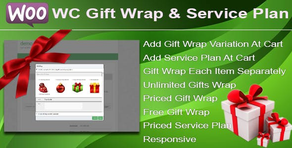 WC Gift Wrap And Service Plan