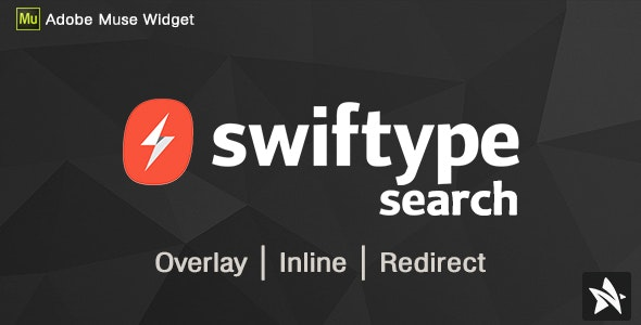 Swiftype Search Widgets for Adobe Muse - CodeCanyon Item for Sale