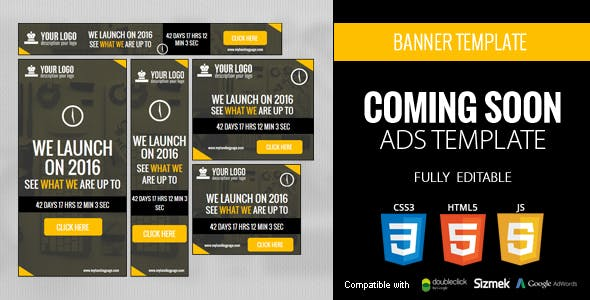 Coming Soon Ads Template