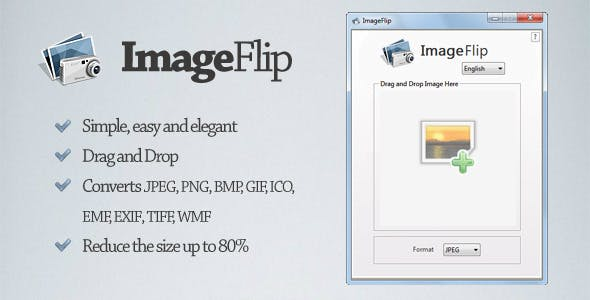 ImageFlip - Converts and reduces images