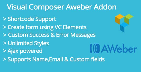 Visual Composer Aweber Addon