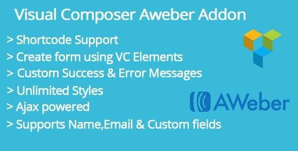 Visual Composer Aweber Addon - CodeCanyon Item for Sale