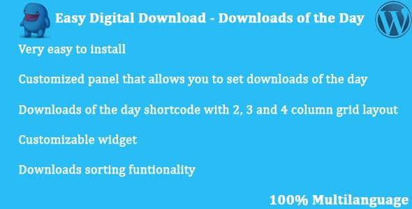 Easy Digital Downloads - Downloads of the Day