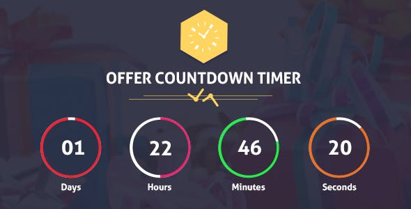Offer CountDown Timer Pro WordPress Plugin for Events/Products/Offers