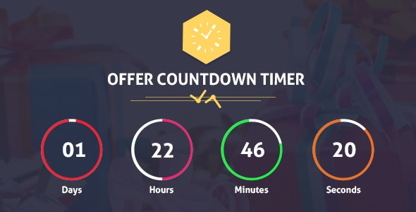 Offer CountDown Timer Pro WordPress Plugin for Events/Products/Offers - CodeCanyon Item for Sale