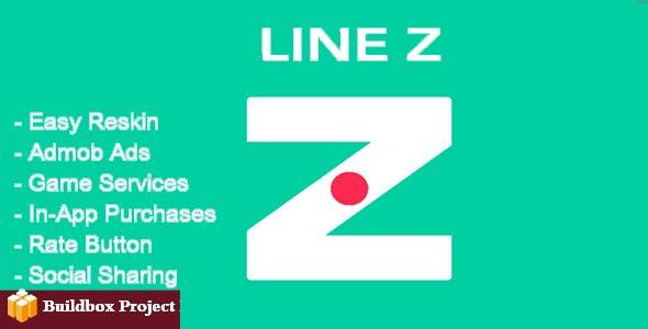 Line Z + Admob + Leaderboard + IAP