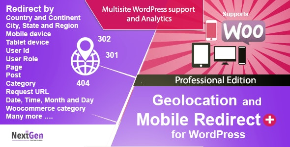 Country and Mobile Redirect for WordPress - Professional Edition - CodeCanyon Item for Sale