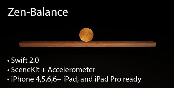 Zen-Balance 3D [Swift 2, SceneKit]