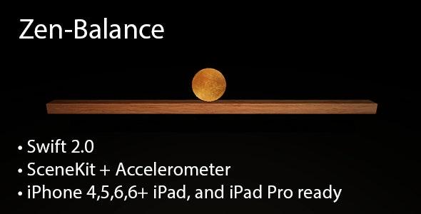 Zen-Balance 3D [Swift 2, SceneKit] - CodeCanyon Item for Sale