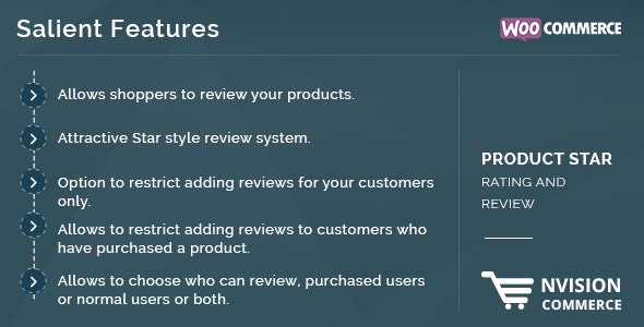 WooCommerce Product Star Rating and Review - CodeCanyon Item for Sale