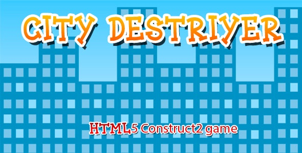 City Destroyer - CodeCanyon Item for Sale
