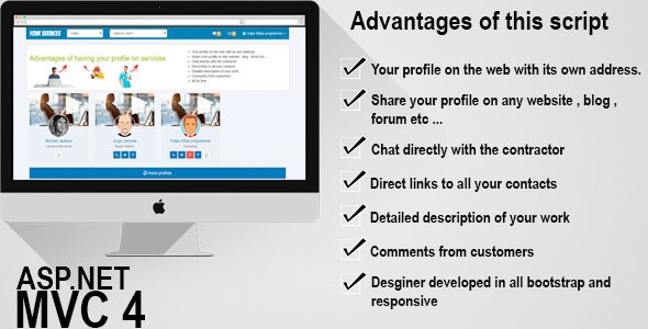 Site social for services - CodeCanyon Item for Sale