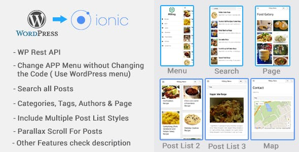 MBlog - Ionic Blog For WordPress