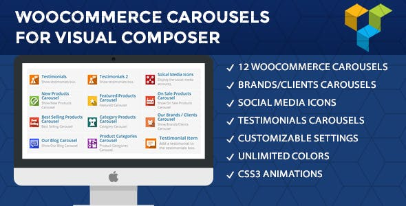 WooCommerce Carousels For Visual Composer