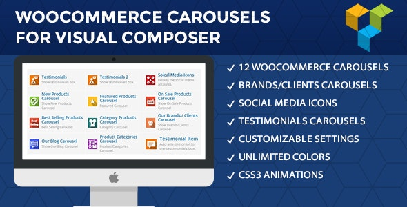WooCommerce Carousels For Visual Composer - CodeCanyon Item for Sale