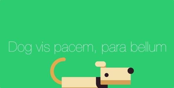 Dog vis pacem, para bellum - IOS 9 SpriteKit Swift Dog Game with iAd/adMob