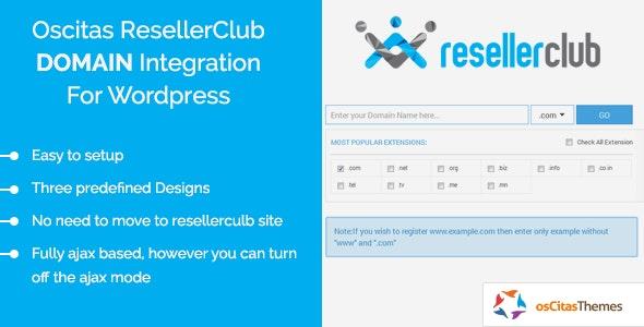 osCitas - ResellerClub Domain Registration Integration Kit - CodeCanyon Item for Sale