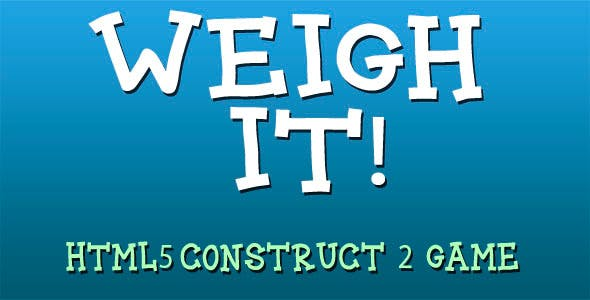 Weigh it! - HTML5 Mobile Game