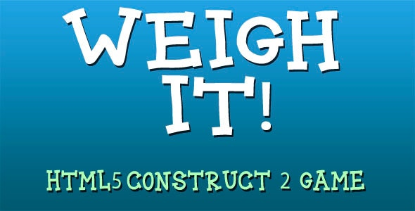 Weigh it! - HTML5 Mobile Game - CodeCanyon Item for Sale