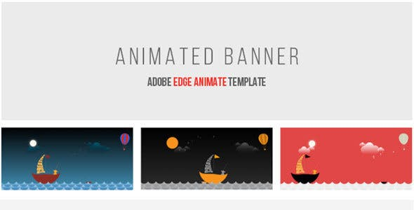 Animated Banner | Adobe Edge Animate
