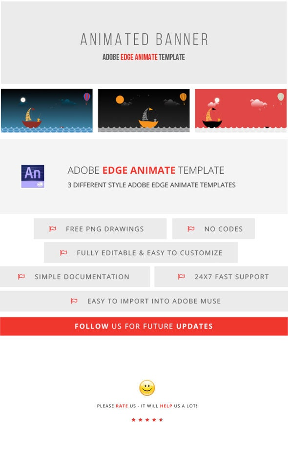 Animated Banner | Adobe Edge Animate - CodeCanyon Item for Sale