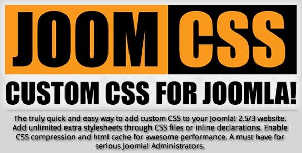 Joomla! Custom CSS - JoomCSS - CodeCanyon Item for Sale