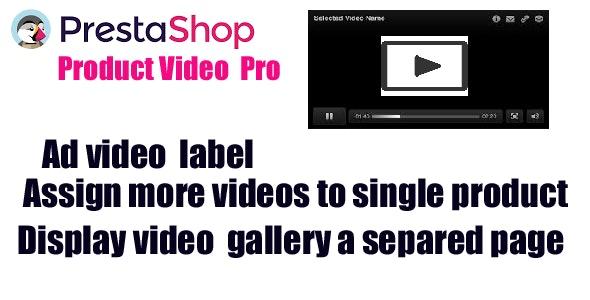 PrestaShop Product Video Pro - CodeCanyon Item for Sale