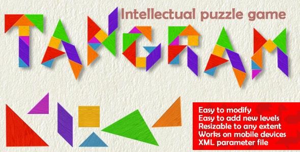 Tangram Game - CodeCanyon Item for Sale